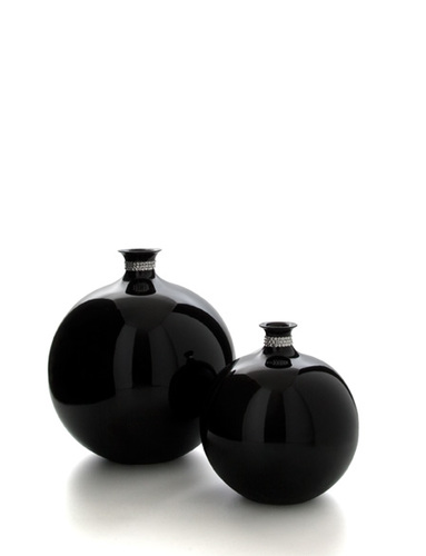 BOMB - CERAMIC VASE WITH SWAROVSKI MADE IN ITALY