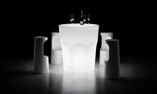 CUBALIBRE Table Light design Giulio Iacchetti Hight 2