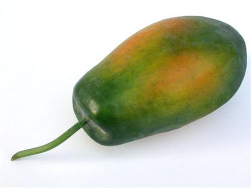 Fruit_Papaya_cm_20_Green_4266GRN