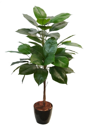 Rubber Topiary 100 cm Green