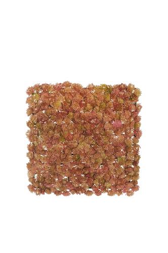 SEDUM rosa malva mattonella artificiale 25X25 cm