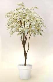 Cherry Blossom Tree 220 cm White