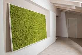 Artificial lichen realization panel