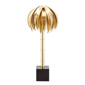 Lampada da tavolo PALM ottone h 72 Ø 36 cm