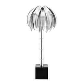 Lampada da tavolo PALM argento h 72 Ø 36 cm