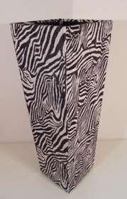 Zebra bianco/nero
