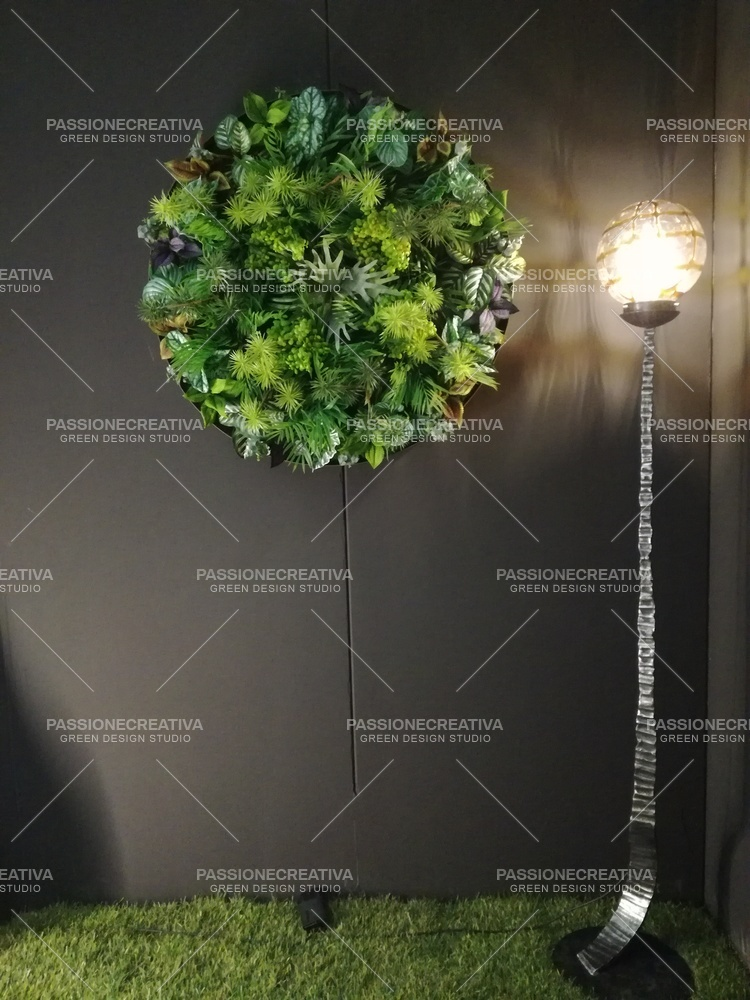 Round vertical green by passionecreativa