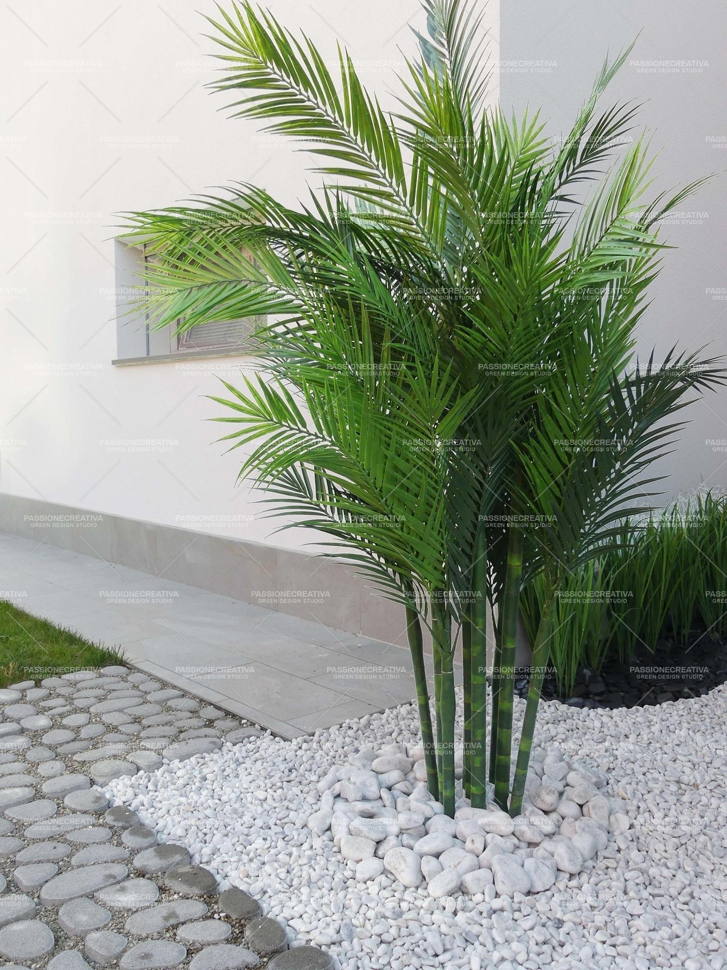 Palme Da Vaso Per Esterno areca palma giant h 190 Ø 160 - pianta artificiale per