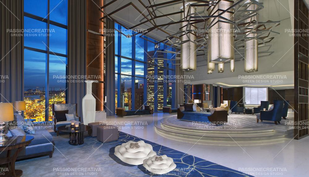 BOTT the westin singapore hotel lobby